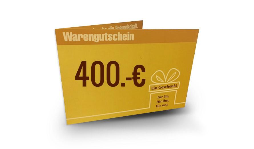 DAS BETT Gutschein 400