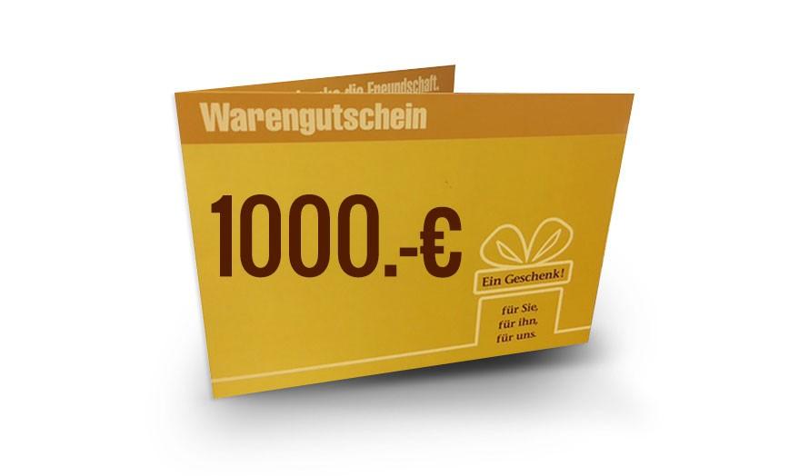 DAS BETT Gutschein 1000