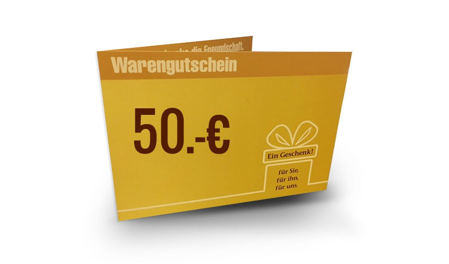 DAS BETT Gutschein 50